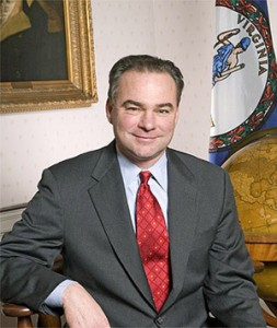 Tim Kaine Official Portrait - Keene Point of View
