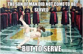jesus serve