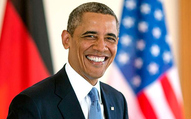 US President Obama Visits Berlin